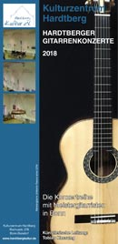 Hardtberger Gitarrenkonzerte 2018